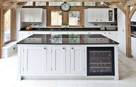 These Were Integrated Flawlessly Throughout The Kitchen To Make Sure They  Did Not Dominate The Overall Design. The Family Chose A Dark Worktop To  Further ...