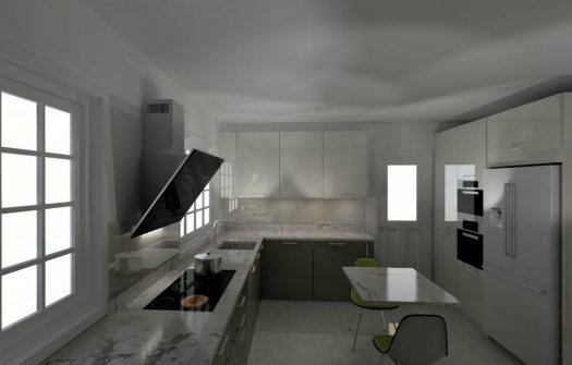 Sanctuary Kitchens and Bathrooms 3D Design