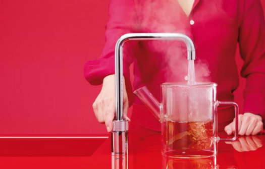 Quooker tap from Sanctuary Kitchens