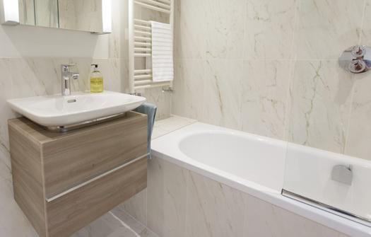 Elegant Family Bathroom. See More