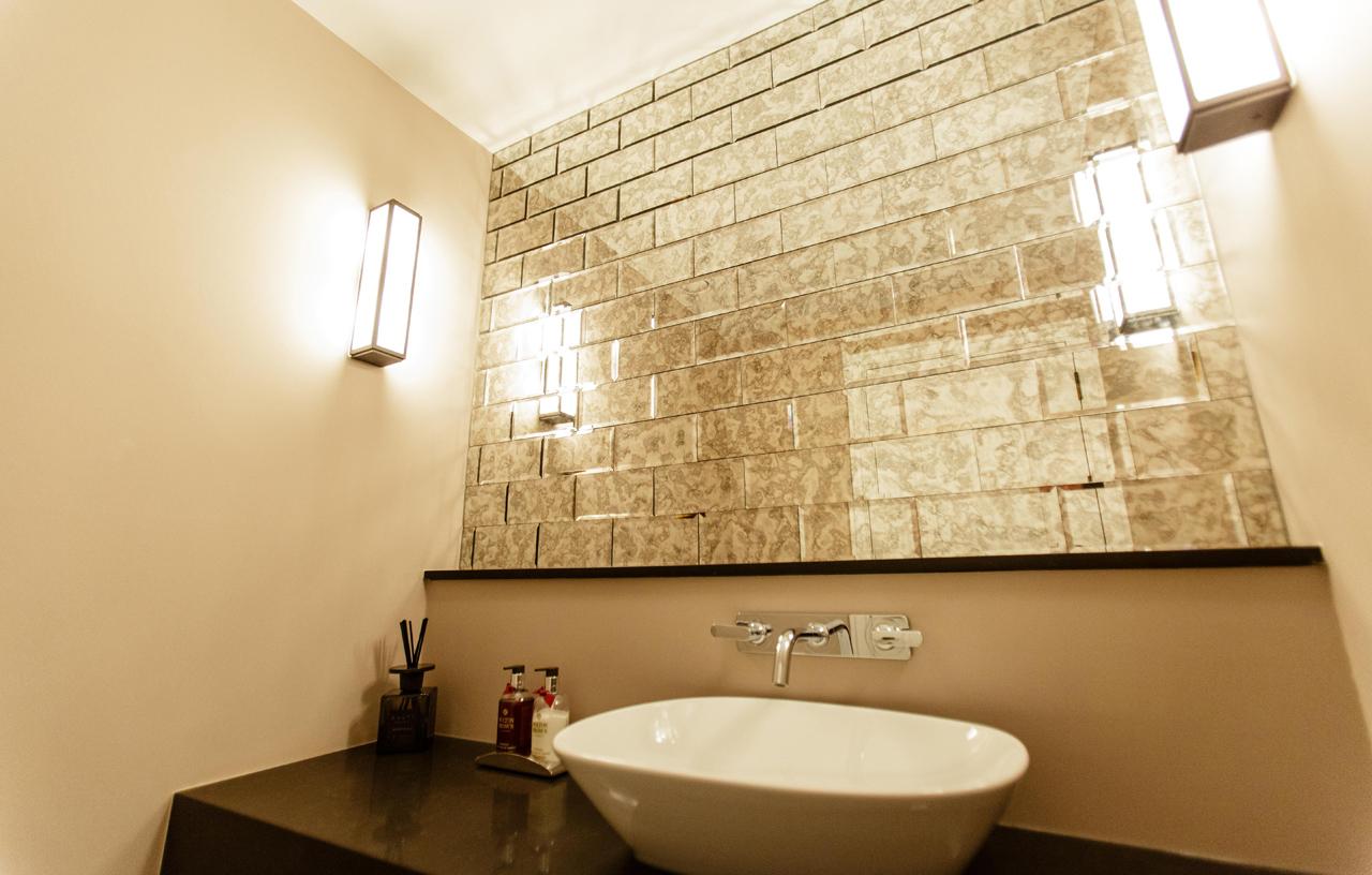 Art Deco Cloakroom - Sanctuary Kitchens and Bathrooms