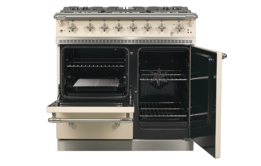 Beaune in English Cream with Chrome Trim Open Ovens 525